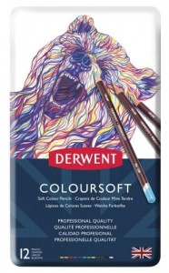 DERWENT KPL. KREDEK COLOURSOFT 12  0701026
