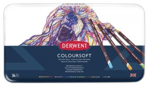 DERWENT KPL. KREDEK COLOURSOFT 36  0701028