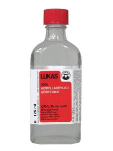 LUKAS CRYL VARNISH MATT 125 ML 22080125