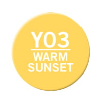 "MARKER CHAMELEON WARM SUNSET ""YO3"""