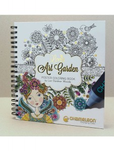 LORIS ART GARDEN COLORING BOOK