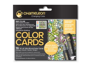 Kolorowanki Chameleon Color Cards - MIRROR IMAGES