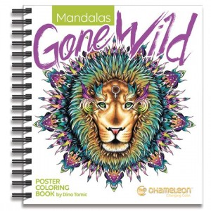 CHAMELEON MANDALAS GONE WILD COLORING BOOK