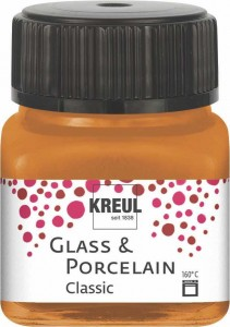 KREUL GLASS & PORCELAIN CLASSIC METALLIC-GOLD BRONZE 20ML 16250