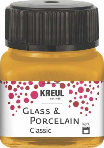 KREUL GLASS & PORCELAIN CLASSIC METALLIC-GOLD 20ML 16247