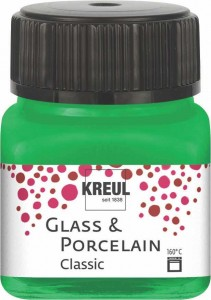 KREUL GLASS & PORCELAIN CLASSIC GREEN 20ML 16223