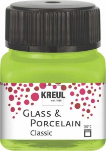 KREUL GLASS & PORCELAIN CLASSIC MAY GREEN 16221