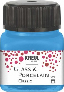 KREUL GLASS & PORCELAIN CLASSIC LIGHT BLUE 20ML 16219