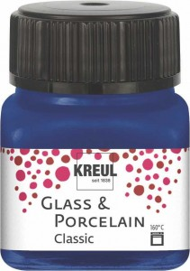 KREUL GLASS & PORCELAIN CLASSIC ROYAL BLUE 20 ML16213