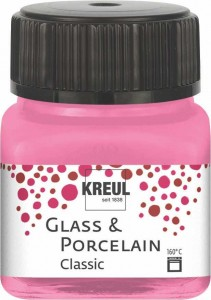KREUL GLASS & PORCELAIN CLASSIC ROSE 20ML 16209