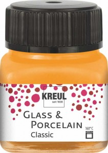 KREUL GLASS & PORCELAIN CLASSIC ORANGE 20ML 16203