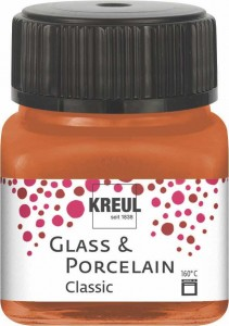 KREUL GLASS & PORCELAIN CLASSIC METALLIC-COPPER 20ML 16248