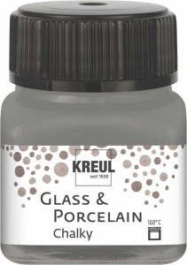 KREUL GLASS & PORCELAIN CHALKY SMOKY STONE 20 ML 16643
