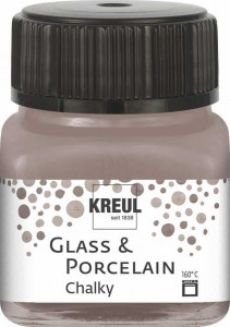 KREUL GLASS & PORCELAIN CHALKY MILD MOCCA 20 ML 16642