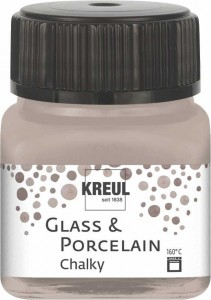 KREUL GLASS & PORCELAIN CHALKY NOBLE NOUGAT 20 ML 16641