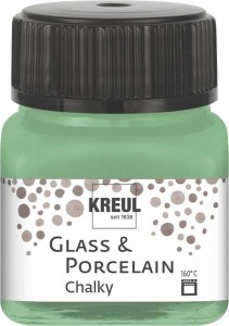 KREUL GLASS & PORCELAIN CHALKY ROSEMARY GREEN 20 ML 16640
