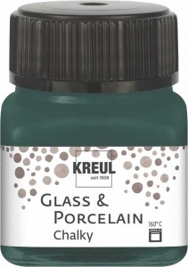 KREUL GLASS & PORCELAIN CHALKY COTTAGE GREEN 20 ML 16639