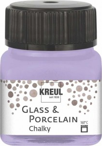 KREUL GLASS & PORCELAIN CHALKY SWEET LAVENDER 20 ML 16636