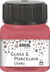 KREUL GLASS & PORCELAIN CHALKY COZY RED 20 ML 16634