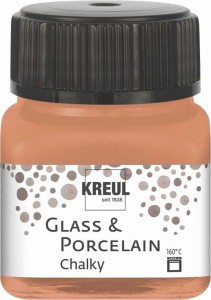 KREUL GLASS & PORCELAIN CHALKY TERRACOTTA EARTH 20 ML 16633