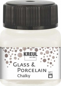 KREUL GLASS & PORCELAIN CHALKY WHITE COTTON 20 ML 16631
