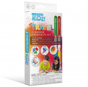 Travel 4 Color Creativity Kit