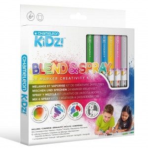 Blend & Spray 24 Color Creativity Kit