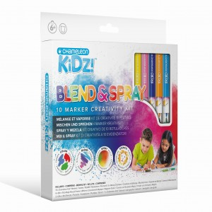 Blend & Spray 10 Color Creativity Kit