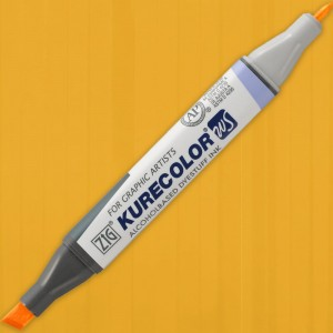 Marker Kurecolor Twin WS 404 BRIGHT YELLOW