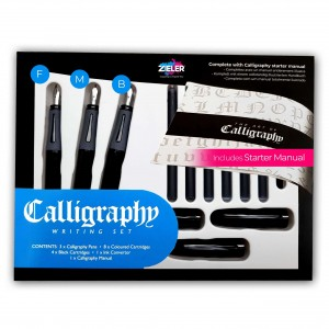 Zieler Zestaw do kaligrafii Calligraphy Writing Set 07290013