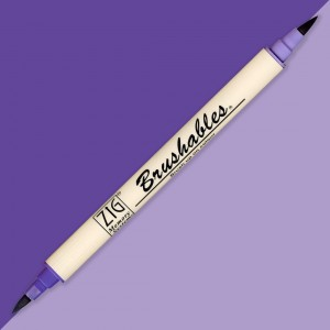 Kuretake Brushables 080 PURE VIOLET MS-7700/080